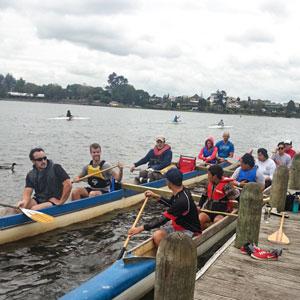 Waka Ama-Para-Canoeing